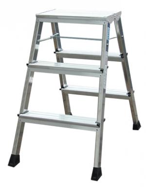 Лестница стремянка складная подставка Rolly 3 ступени купить на выгодных условиях в Ярославле